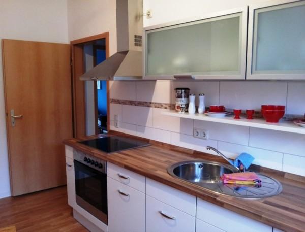Küche der Vormieter