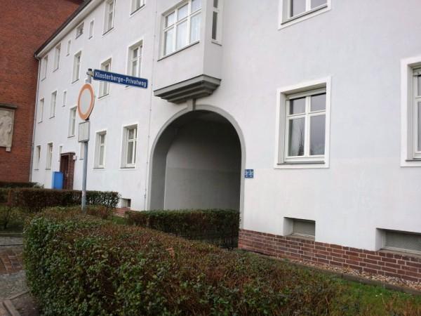historischer Torbogen